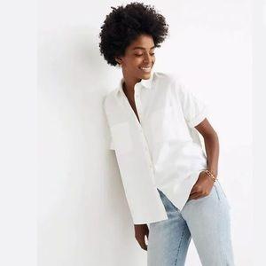 Madewell - short sleeve oversized Courrier shirt